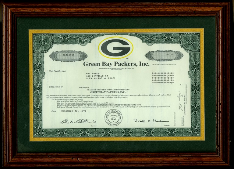 greenbaypackersframed